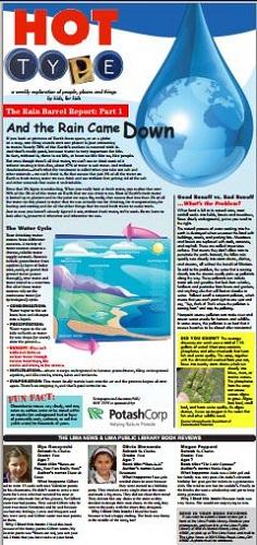 Rain Barrel Report part 1