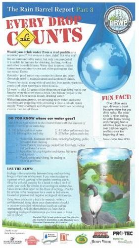Rain Barrel Report part 3