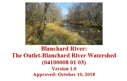 The Outlet/Blanchard River Approved NPS-IS Plan