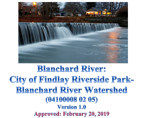 City of Findlay Riverside Park - Blanchard River Watershed Approved NPS-IS Plan