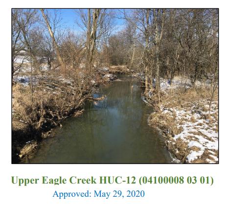Upper Eagle Creek Approved NPS-IS Plan
